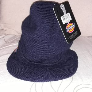 Dickies blue acrylic hat with Brim